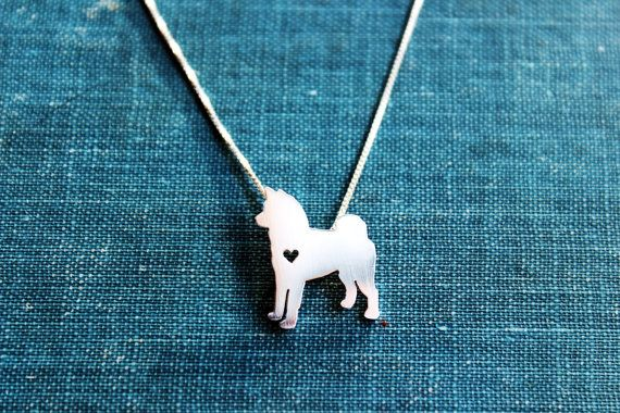 Hey, I found this really awesome Etsy listing at https://www.etsy.com/listing/159347254/akita-necklace-sterling-silver-tiny