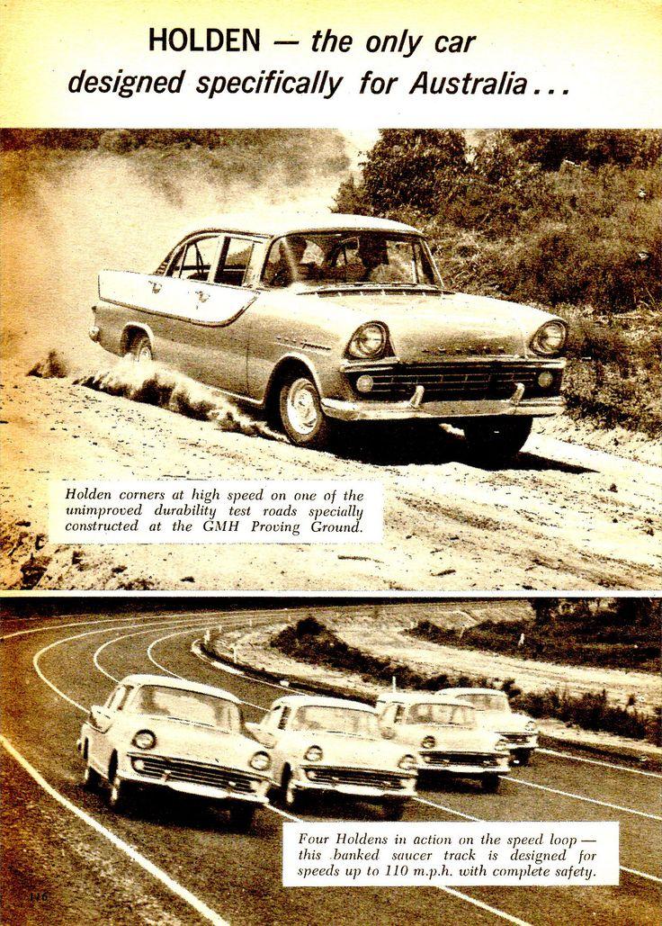 https://flic.kr/p/JNnQYU | 1960 FB Holden Special Lang Lang Proving Ground Page 1 Aussie Original Magazine Advertisement