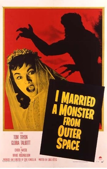 1958 I Married A Monster From Outer Space Original US Poster. £750 at Vintage Seekers.