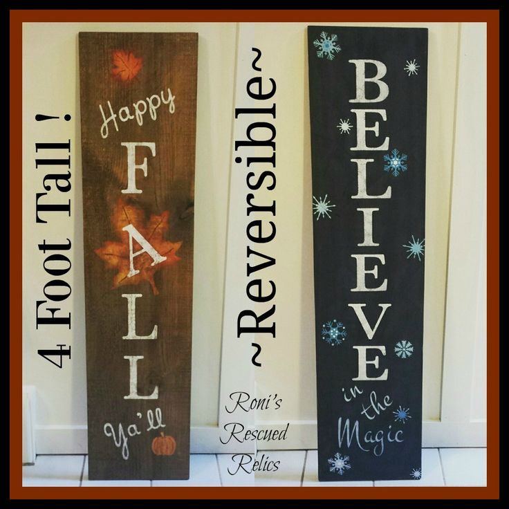 These reversible signs are so popular these days, for the porch or inside, that…