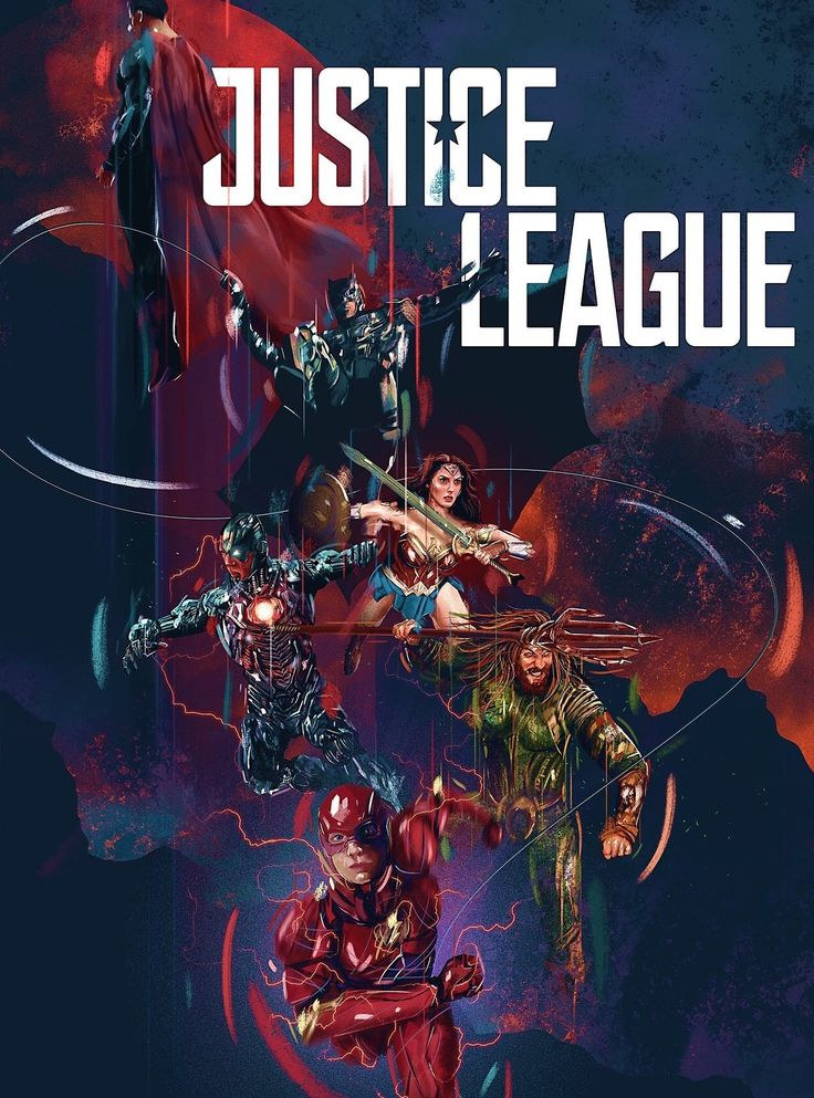 Justice League Movie Poster 2018 Featuring Flash, Aquaman, Cyborg, Wonder Woman, Batman and Superman, See 19 Justice League Easter Eggs - DigitalEntertainmentReview.com