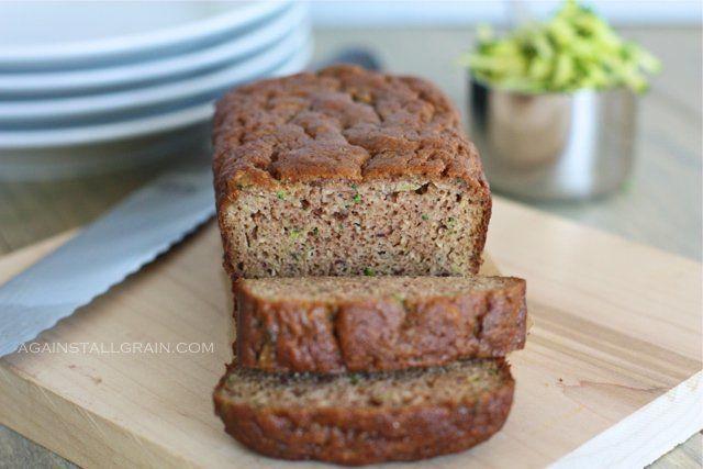 Grain-Free Almond Flour Zucchini Bread