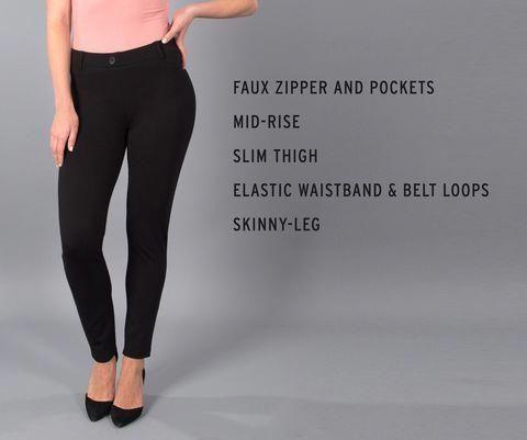 Skinny Leg Black Dress Pant Yoga Pants Yogapants Yoga Pants In