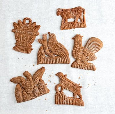 A specialty of the Netherlands and Belgium, these molded ginger cookies are showstoppers.