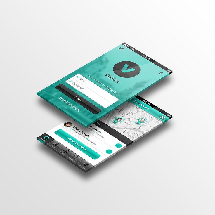 iPhone UI by Damian Watracz