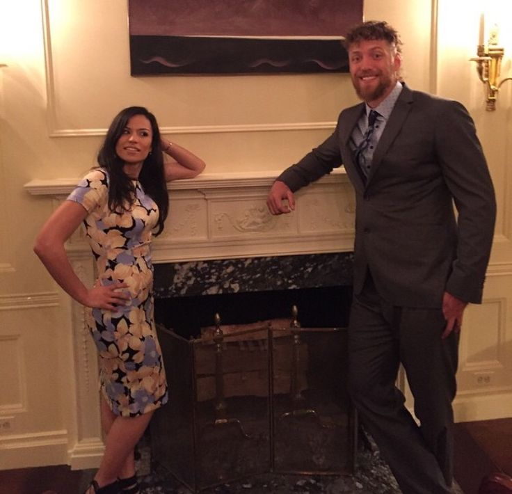 Hunter Pence and his girlfriend at the White House on June 4, 2015.