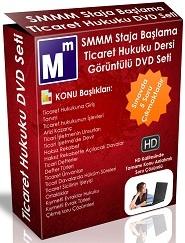 SMMM Ticaret Hukuku Staja Başlama Görsel Eğitim Görüntülü Dvd Seti