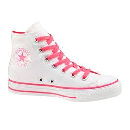 Conversefashion Converse Chuck Taylor All Star White/ Neon Pink