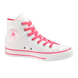 Conversefashion Converse Chuck Taylor All Star White/ Neon Pink