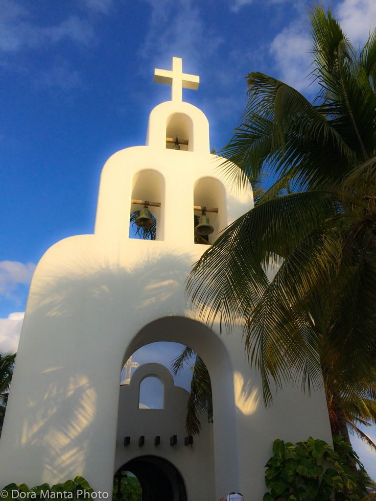 Church in Mexico, Playa del Carmen