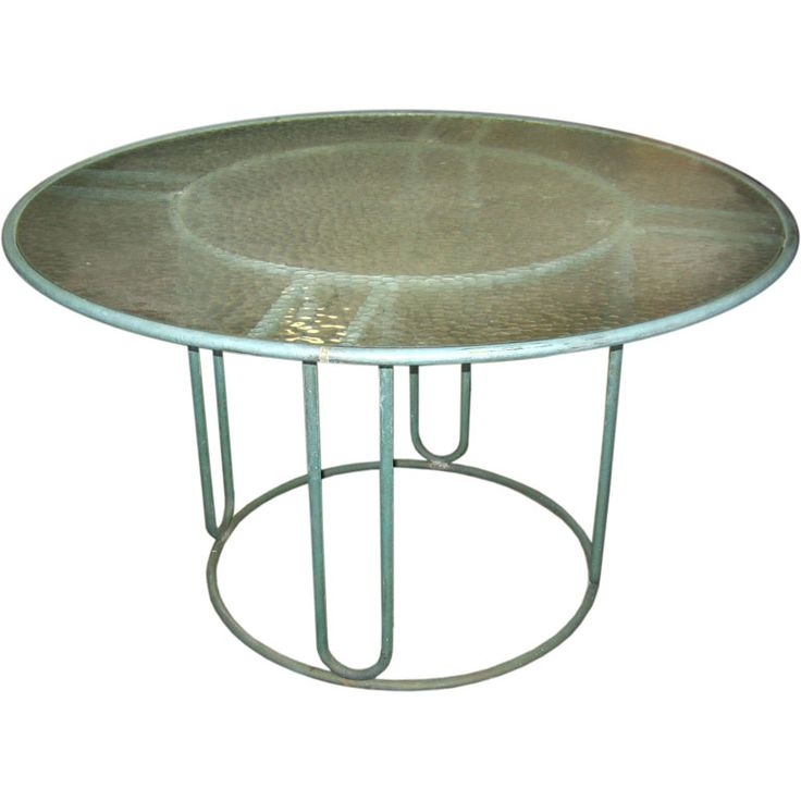 Walter Lamb Round Dining Table | From A Unique Collection Of Antique And  Modern Garden Furniture