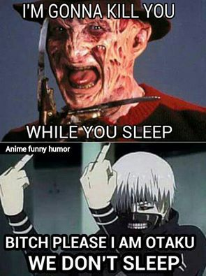 Insomnia is an Otaku's super power!!!
