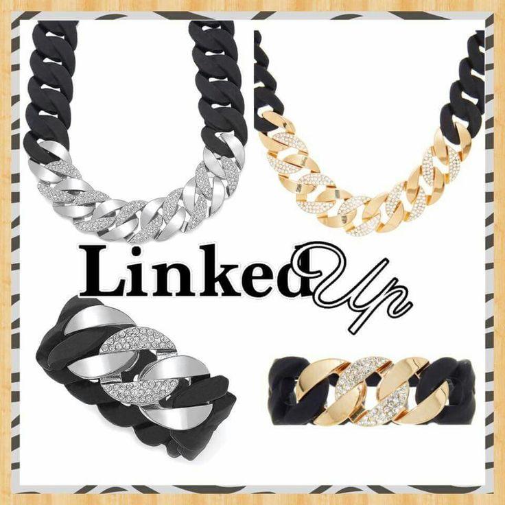 """Get your wardrobe """"Linked Up"""" with Traci Lynn Jewelry  www.tracilynnjewelry.net/3421"""