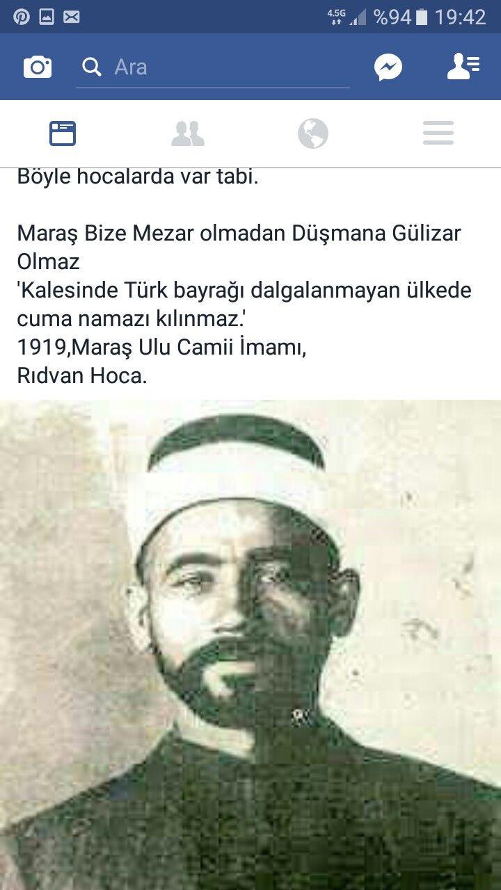 1919/maraş ulu cami/rıdvan hoca