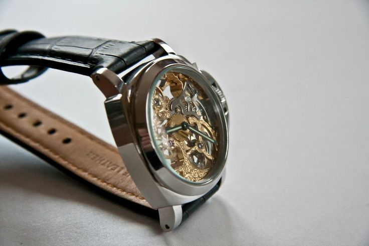 B-UHR PANERAI tribute SKELETON watch,stainless steel, brand new + warranty card! $229!