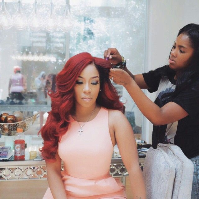 K. Michelle getting on fleek