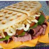 Shoopi - Descubre tu ciudad - waffle salado - $6 - waffles gladis