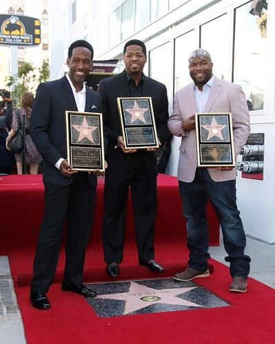 Boyz II Men, receiving their star on the Hollywood Walk of Fame - I just listened to some of their stuff the other day, and the harmonies are just beautiful.Hollywood Walks, Music Fav, Hollywood Stars, Famous People, Celebritie Stars, Ii Men, Fame Hollywood, Boyz Ii, Stars Walks