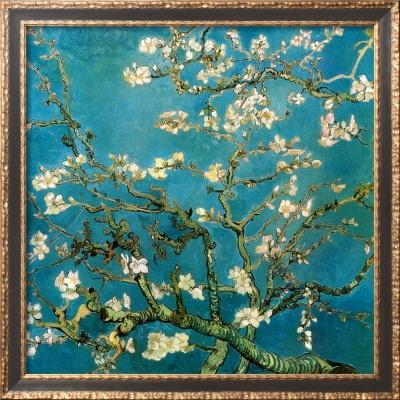 Almond Branches in Bloom, Vincent van Gough