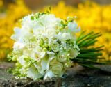 Wedding bouquet / Lilly of the Valley bouquet by La Florista