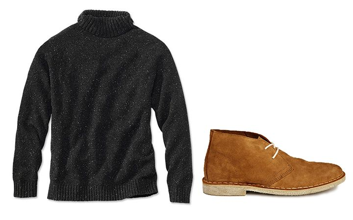 Men's Fashion - How you can pull off turtlenecks this fall.