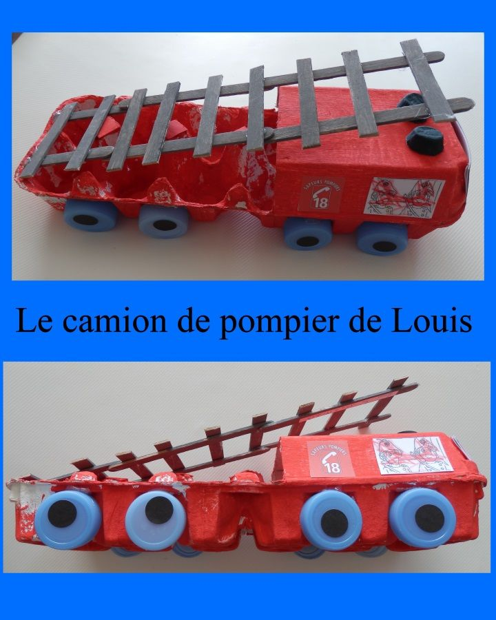 LES CAMIONS DE POMPIER