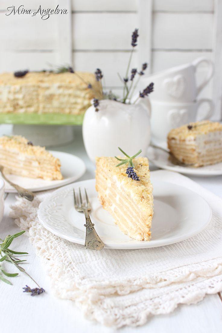 Angellove's Cooking: Френска селска торта с бисквити / Layered Honey Cake with…