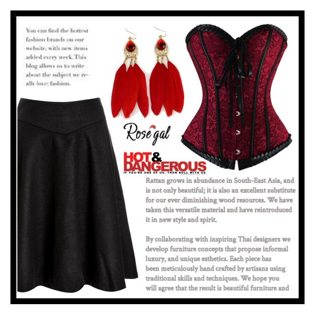 """Hot and Dangerous"" by amra-sarajlic ❤ liked on Polyvore"