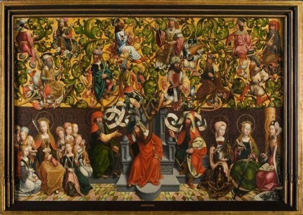 RMTwenthe Collectie Online : De boom van Jesse Nederrijn    ca. 1500
