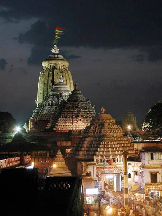 Ancient historic temple of Jagannatha Puri, India