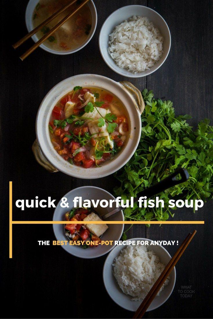 Fish Soup 4 Servings