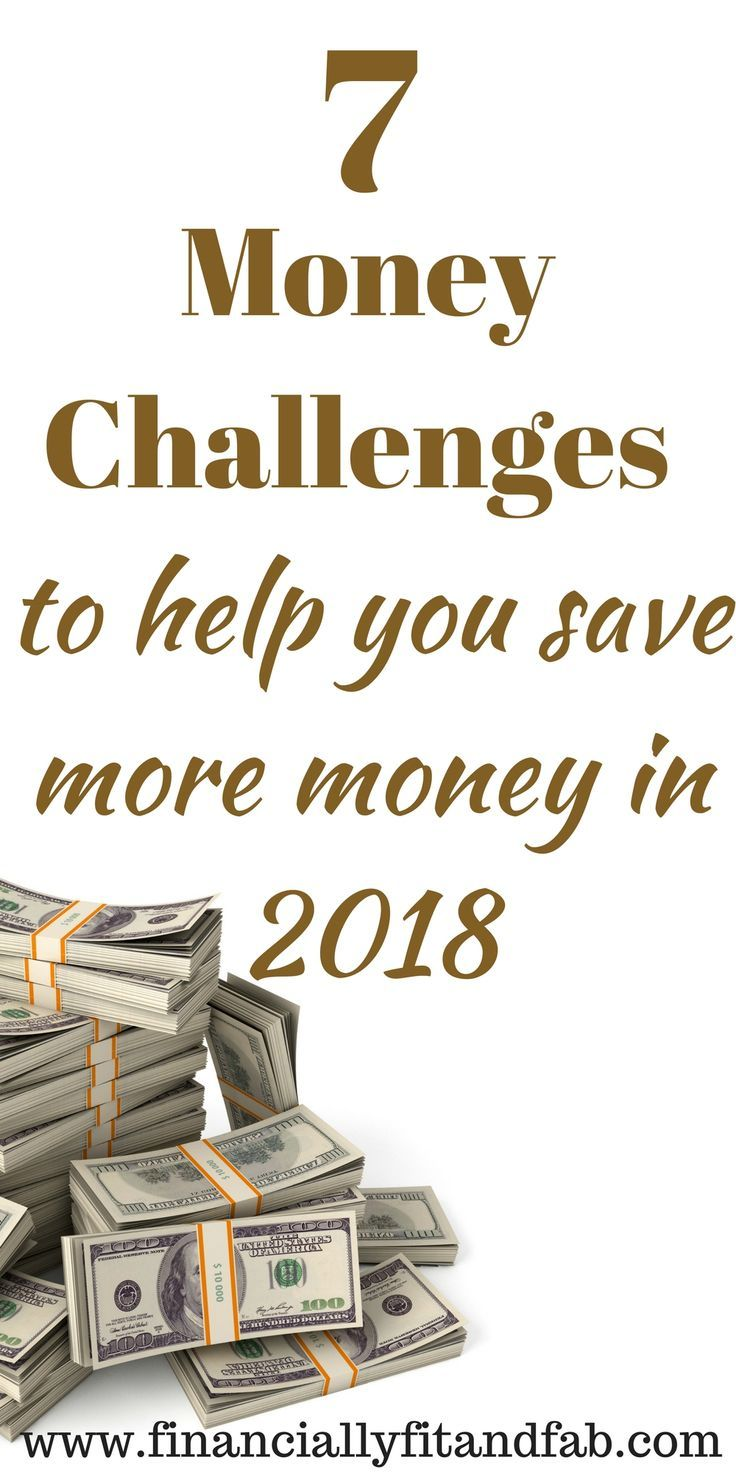 7 Money Challenges to help you save more money in 2018 | Money Challenge |  Save