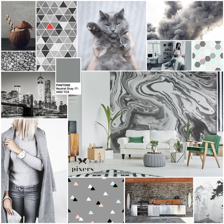 187 best Pantone \'Neutral Gray\' images on Pinterest | Drawing room ...