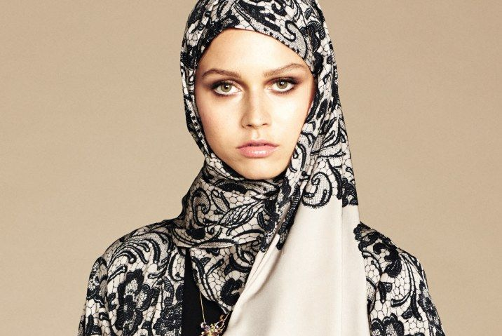 Luminous Makeup to Pair With Your Dolce & Gabbana Hijab