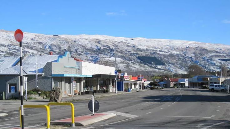 Roxburgh is a quaint town from which to begin your cycle ride.