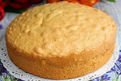 Di gotuje: Najlepszy biszkopt do ciast i tortów (różne wymiar...