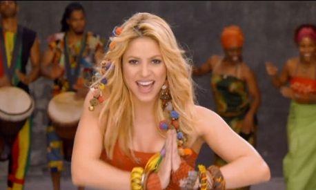 Shakira Colombiaanse zangeres - Plazilla.com