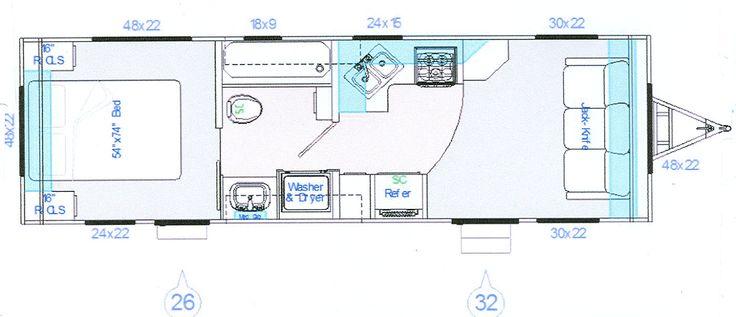 Pin by patti mennes on tt pinterest for 12 foot travel trailer floor plans