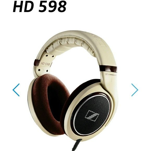 HD 598 Sennheiser Headphones Brand new, never worn! Taken out of the box, never worn, perfect condition! Bought new in store $249! These are amazing! sennheiser  Accessories