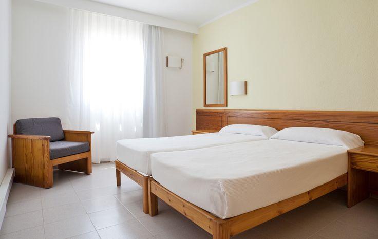 En ILUNION Menorca disponemos de habitaciones dobles para que disfrutéis toda la familia. http://www.ilunionmenorca.com/