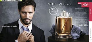 Ginbers Butik: Parfum So Fever Him & Her Oriflame