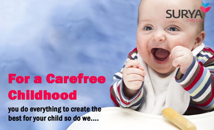 We Join Our Hands With You In Making Your Baby's Childhood Carefree