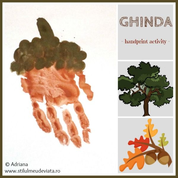 ghinda, handprint art