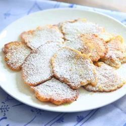 Frittelle di mele e cannella @ allrecipes.it