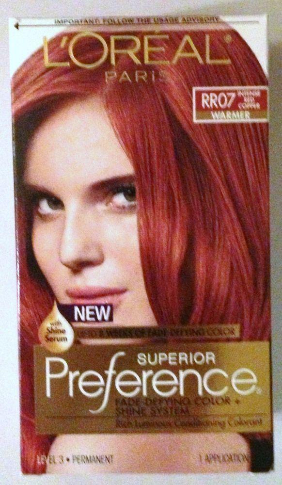 LOreal Paris Superior Preference Hair Dye Color # RR07 ...