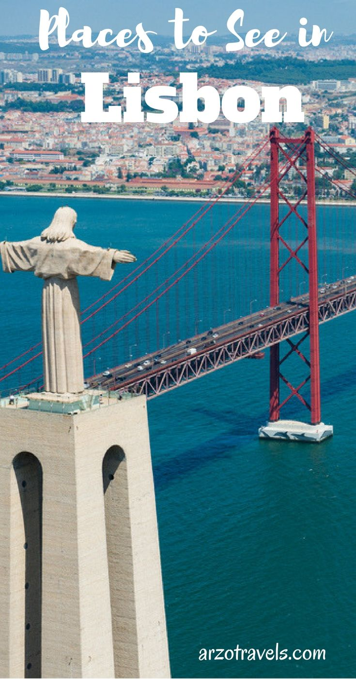 Top places to see in Lisbon for first-time visitors. Portugal, Europe.