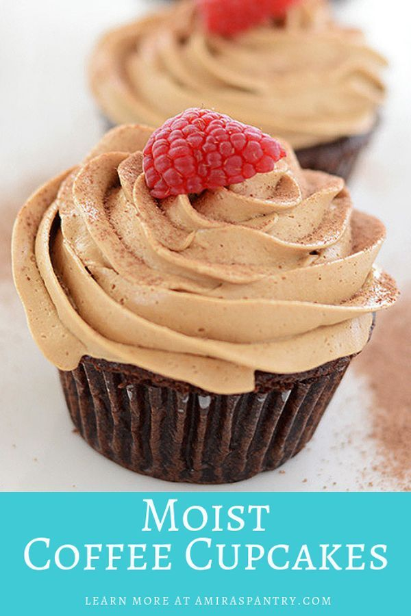 Coffee Cupcake With Mocha Frosting Recipe Coffee Cupcakes