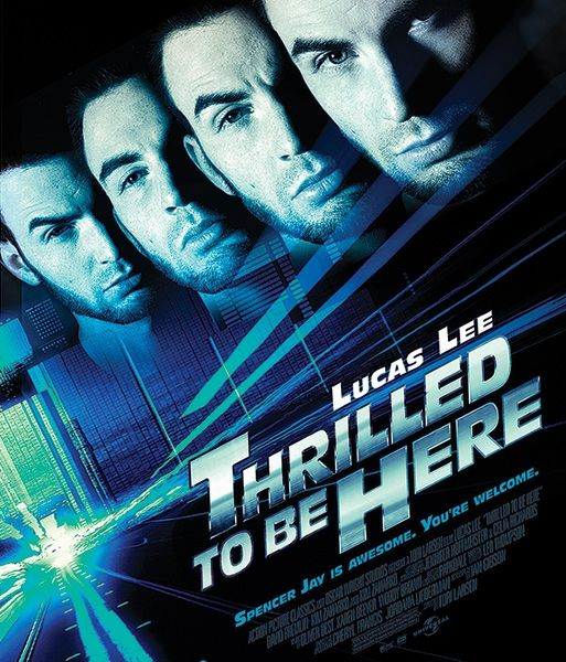 Mock-ups of Lucas Lee movie posters starring Chris Evans's character in Scott Pilgrim Vs The World.