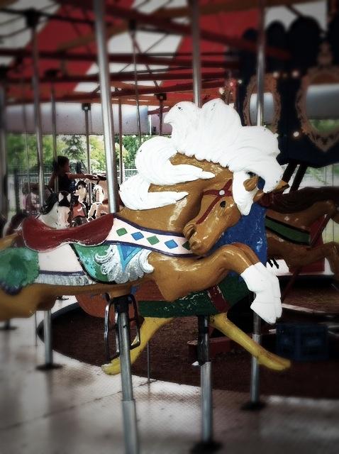 Kinsmen Park, Merry-go-Round, Saskatoon Sk.