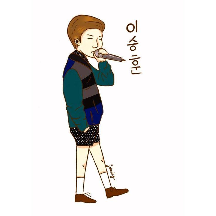 Lee Seung Hoon 'WINNER' Korea Boyband